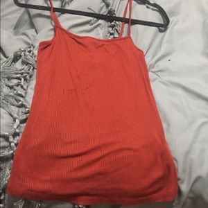 Forever 21 ribbed square neck tank NWT